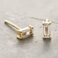 Robindira Petite Topaz Posts in Gold Size: One Size Earrings