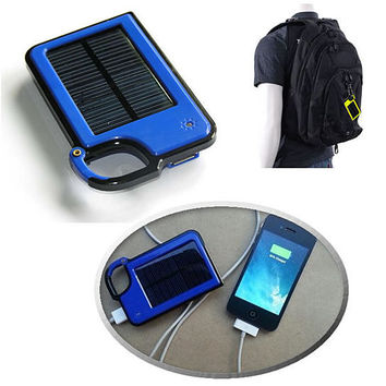 Tag Along with your Solar Charger for your iPhone or any smartphone.
