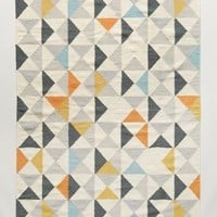 Perfect Symmetry Rug by Anthropologie in Multi Size: