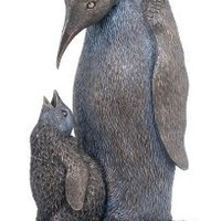 Penguin With Baby Penguin