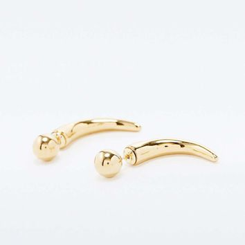 Amber Sceats Ball and Hook Earrings in Gold - Urban Outfitters