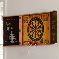 Dartboard And Game Console