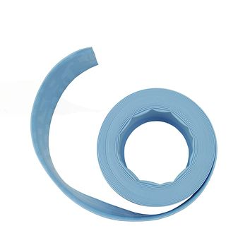 Light Blue Swimming Pool Filter Backwash Hose - 50' x 1.5""