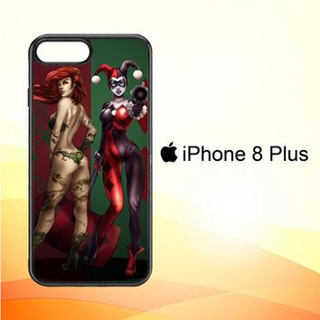Poison Ivy Harley Quinn Y1739 iPhone 8 Plus Case