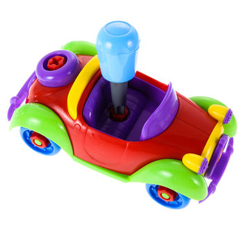 Colorful Baby Kids Disassembly Assembly Car Puzzle Toy Early Educational Toy DIY Bricks Toys for Children Toys