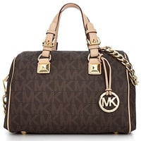 MICHAEL Michael Kors Grayson Monogram Medium Satchel