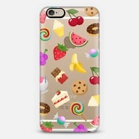 Sweet Emojis - iPhone 6 transparent case iPhone 6 case by Nour Tohme | Casetify