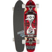 Sector 9 Timekeeper Skateboard Red One Size For Men 25386730001