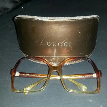 Vintage Polaroid Eyeglass Frames, made in Italy
