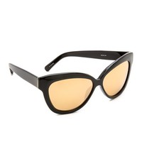 Linda Farrow Luxe Thick Rim Sunglasses