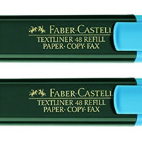 Faber-Castell Textliner 48 Refill Paper-Copy-Fax Variant Colours (Blue)