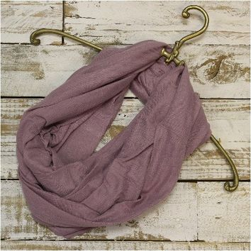 SALE scarf - dusty lavender