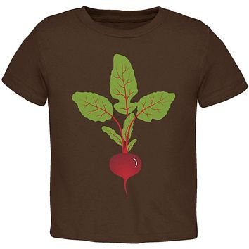 Halloween Vegetable Beet Costume Toddler T Shirt