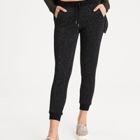AEO Shine Sweatpant, Black