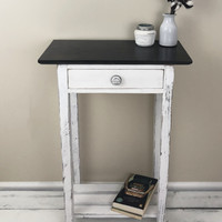 The Franklin Farmhouse End Table / Night Stand