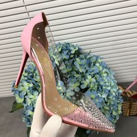 Fasion Christian Louboutin Cl Degrastrass Pumps Pink