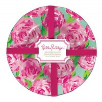 Lilly Pulitzer - Melamine Plate Set - First Impression