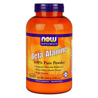 NOW Beta-Alanine, 500 g