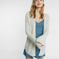 Marled Thermal Bell Sleeve Cover-Up