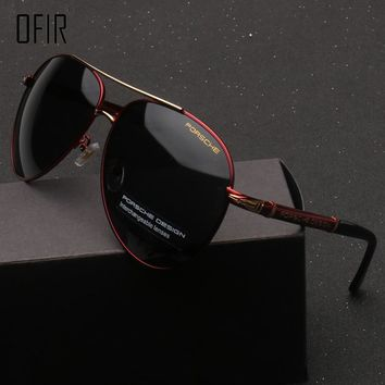 OFIR Brand HD Polarized Aviator Sunglasses Men Sun Glasses Brand Design Fishing Driving Sunglasses Goggle Classic Eyewear YF-30