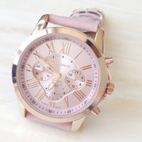 Women Leather Watch +Gift Box-88