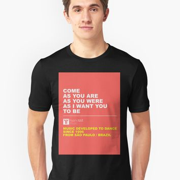 'Come as you are' Men's Premium T-Shirt by hypnotzd
