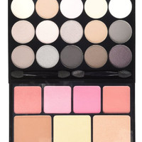 NYX Naked Eye Makeup Palette Beauty Blendable Shadow Nude Cosmetics