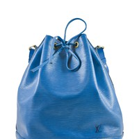 Louis Vuitton Blue Epi Bucket Bag