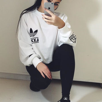 Adidas Women Fashion Top Sweater From Ids Book