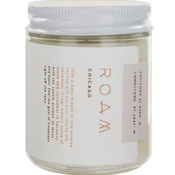 Roam Chicago Soy Wax Candle