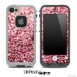 Glimmer Subtle Red Skin for the iPhone 5 or 4/4s LifeProof Case