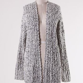 Popcorn Cardigan (Multiple Colors Available)