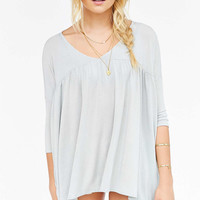Kimchi Blue Charlotte Flutter Tunic Top - Urban Outfitters