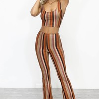 Want You Need You Striped Set
