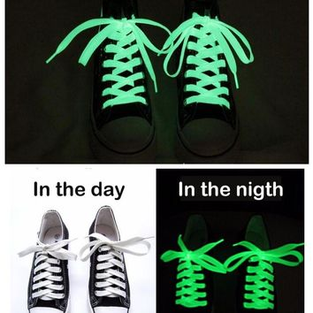 Kool Luminous shoelaces fluorescent Glow