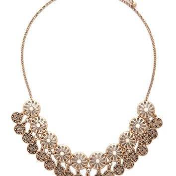 Medallion Collar Necklace