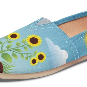 Photosynthesis Sunflower Casual Shoes