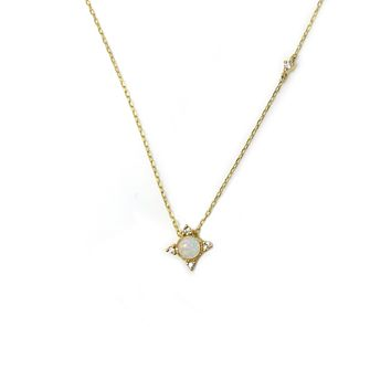 14kt Gold & Diamond Mysterious Cosmos Pendant