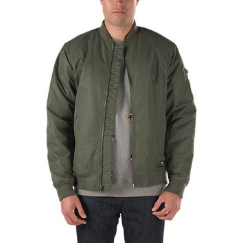 Morro Deluxe Flight Jacket | Shop Mens Jackets at Vans