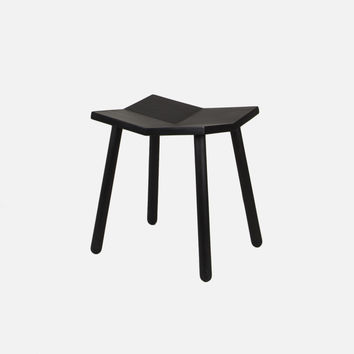 Mitre Stool - Low / Black