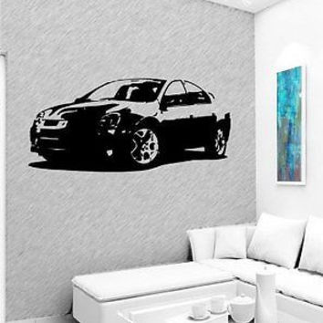 Wall MURAL Vinyl Sticker Car DODGE NEON SRT4 2004 D1723