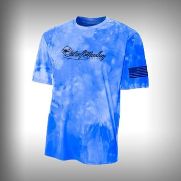 Unisex Space Dye Performance Short Sleeve