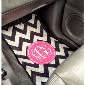 Personalized Car Mats For Front Set of 2