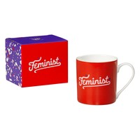 Feminist Coffee Mug in Red
