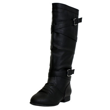 Coco-61 Knee High Riding Boots