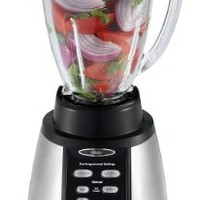Oster BVCB07-Z Counterforms 6-Cup Glass Jar 7-Speed Blender, Brushed Stainless/Black:Amazon:Kitchen & Dining