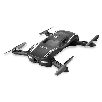 New 2017 RC Drone Dron Mini Foldable RC Selfie Drones WiFi FPV 0.3MP Camera Voice Control G-Sensor Mode Helicopter Quad Copters