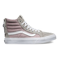 Floral Chambray SK8-Hi Slim Zip | Shop Womens Shoes at Vans