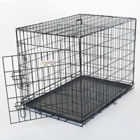 Single Door Folding Dog Crate By Majestic Pet Product