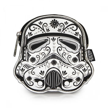 Stormtrooper Floral Coin Bag